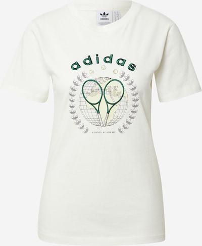 ADIDAS ORIGINALS Shirt in hellgelb / tanne / schwarz / offwhite, Produktansicht