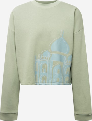 ABOUT YOU Limited Sweatshirt 'Mio' by Nic Kaufmann in Grün
