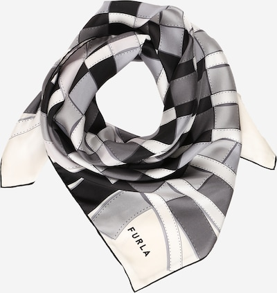 FURLA Φουλάρι σε γκρι / μαύρο / λευκό, Άποψη προϊόντος