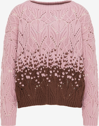 (nude) Pulllover in braun / pink, Produktansicht