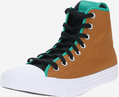 CONVERSE Sneaker 'CHUCK TAYLOR ALL STAR' in braun / jade / schwarz, Produktansicht