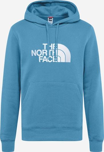 THE NORTH FACE Mikina - světlemodrá / bílá, Produkt