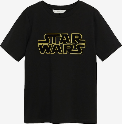 MANGO KIDS T-Shirt 'Starwars' in gelb / schwarz, Produktansicht