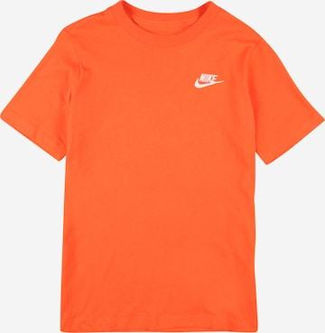 Nike Sportswear T-Shirt in Orange