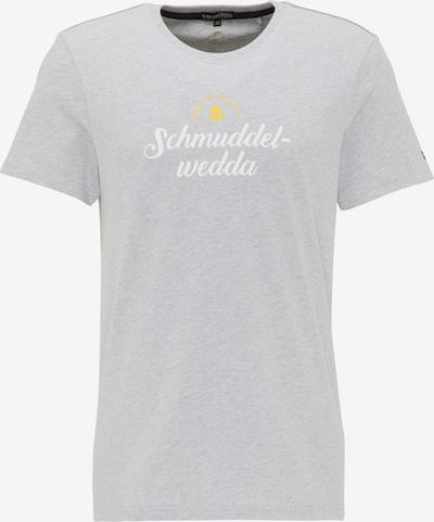 Schmuddelwedda T-Shirt in grau, Produktansicht