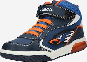 GEOX Sneaker 'Inek' in Blau