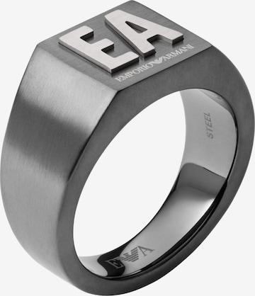 Emporio Armani Ring i grå