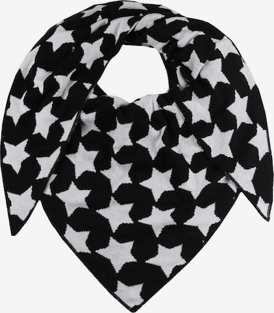 Zwillingsherz Masque en tissu en noir / blanc, Vue avec produit