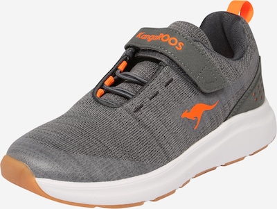 KangaROOS Sneaker 'Hook' in grau / neonorange, Produktansicht