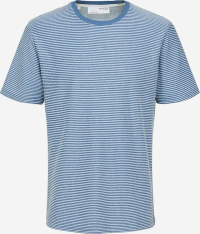 SELECTED HOMME T-Shirt 'Tristan' in himmelblau / weiß, Produktansicht