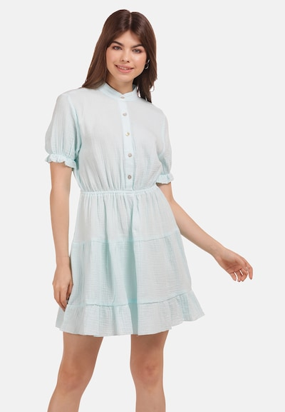 MYMO Kleid in azur, Modelansicht