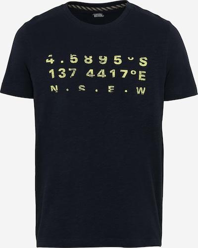 CAMEL ACTIVE Tričko - noční modrá / světle žlutá, Produkt