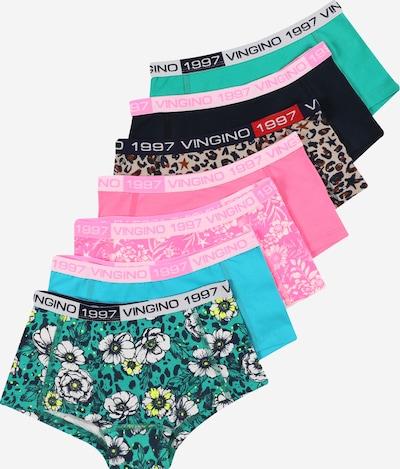 VINGINO Onderbroek 'Thosedays' in de kleur Lichtbeige / Nachtblauw / Smaragd / Jade groen / Pink, Productweergave
