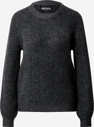 PIECES Pullover in grau, Produktansicht