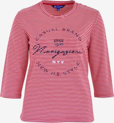 Navigazione Sweatshirt in navy / rot / weiß, Produktansicht
