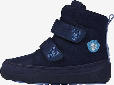 Affenzahn Winterstiefel 'Bär' in blau, Produktansicht
