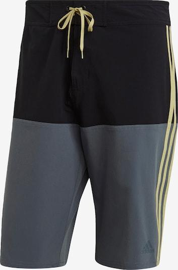 ADIDAS PERFORMANCE Shorts in gelb / grau / schwarz, Produktansicht