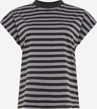Urban Classics Curvy T-shirt en gris foncé / noir, Vue avec produit