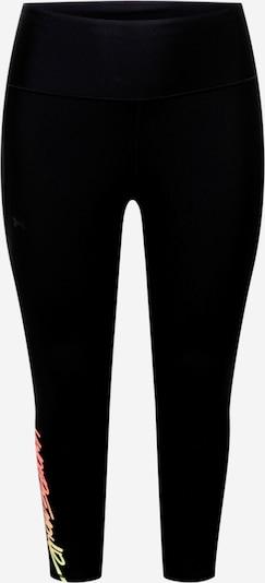 Pantaloni sport UNDER ARMOUR pe galben / portocaliu / portocaliu piersică / negru, Vizualizare produs