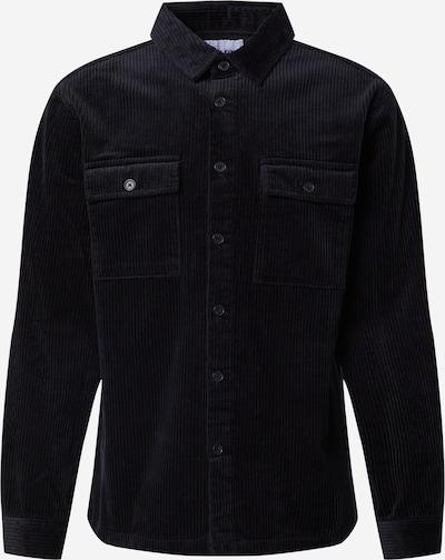 DAN FOX APPAREL Jacke 'Leif' in schwarz, Produktansicht