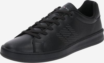TOMMY HILFIGER Sneaker in grau / hellrot / schwarz / weiß, Produktansicht