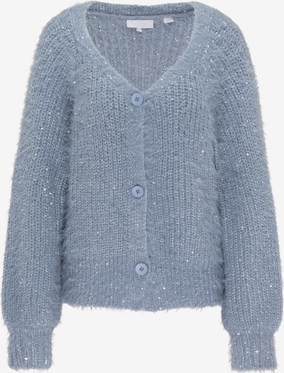 usha WHITE LABEL Strickjacke in blau, Produktansicht
