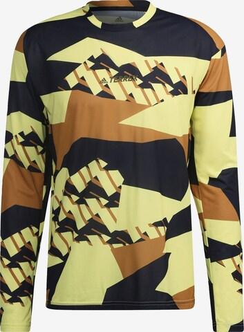 T-Shirt fonctionnel adidas Terrex en mélange de couleurs