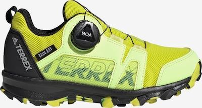 ADIDAS PERFORMANCE Lage schoen 'TERREX Agravic Boa' in de kleur Neongeel / Lichtgroen / Zwart, Productweergave