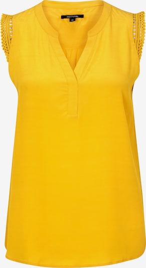 COMMA Bluse in gelb, Produktansicht