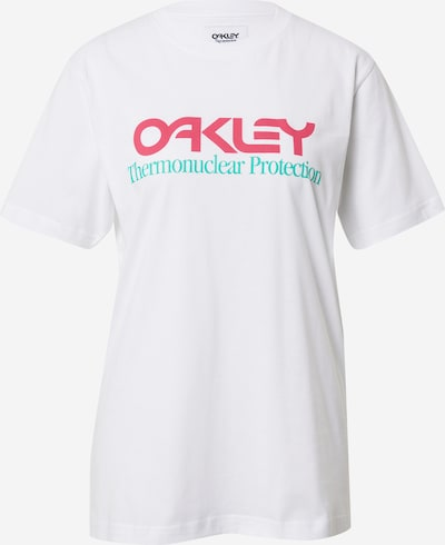 OAKLEY Functional shirt in Red / White, Item view