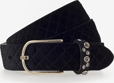 b.belt Handmade in Germany Riem 'Sefora' in de kleur Zwart, Productweergave