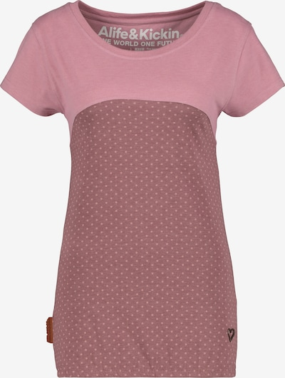 Alife and Kickin Shirt 'Clarice' in lila / pink / puder, Produktansicht