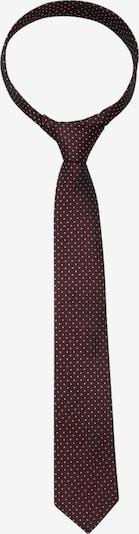 SEIDENSTICKER Krawatte 'Schwarze Rose' in rot / weiß, Produktansicht