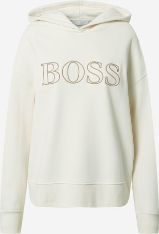 Sweat-shirt 'Efessa' BOSS Casual en blanc