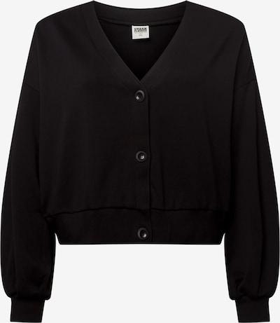 Urban Classics Curvy Sweatjacke in schwarz, Produktansicht