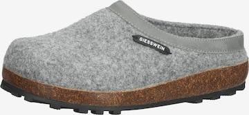 Pantoufle GIESSWEIN en gris
