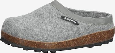 GIESSWEIN Pantoufle en gris / noir / blanc, Vue avec produit