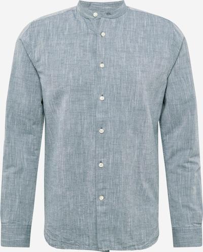 KnowledgeCotton Apparel Skjorta 'LARCH' i blå, Produktvy
