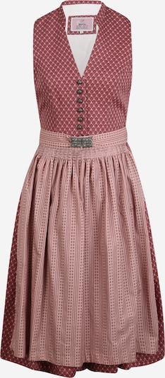 MARJO Dirndl 'Rosalie' | brusnica barva, Prikaz izdelka