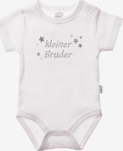 LILIPUT Romper/Bodysuit 'Kleiner Bruder' in White, Item view