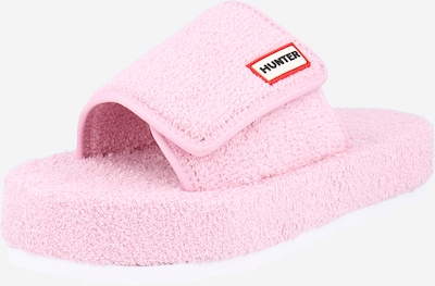 HUNTER Pantolette in pink, Produktansicht