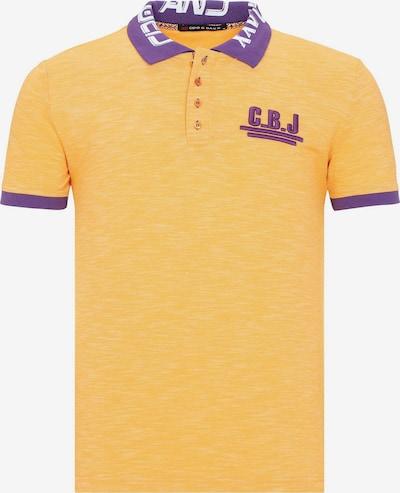 CIPO & BAXX Poloshirt 'Cbj' in gelb, Produktansicht