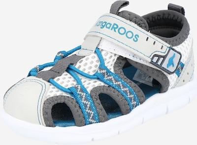 KangaROOS Otevřená obuv - aqua modrá / šedá / bílá, Produkt