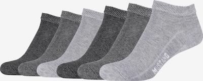 MUSTANG Sneakersocken in grau / dunkelgrau, Produktansicht