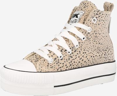 Sneaker înalt 'KAYA' BRITISH KNIGHTS pe maro cămilă / negru / alb, Vizualizare produs