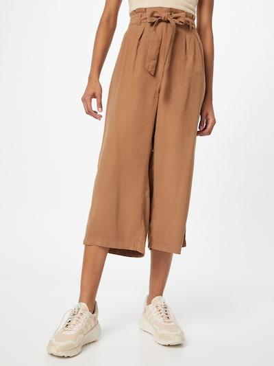 Pantaloni con pieghe 'Aminta-Aris' ONLY di colore caramello, Visualizzazione modelli