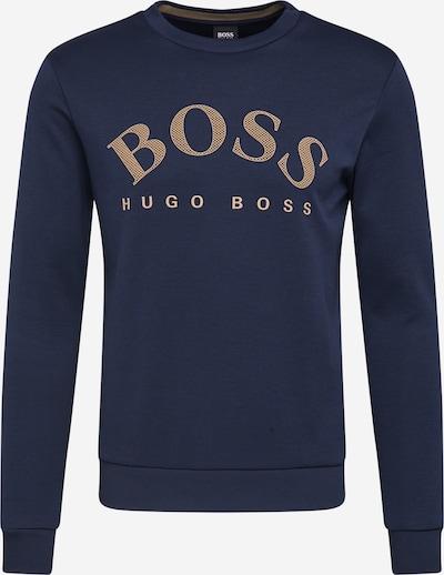 BOSS ATHLEISURE Sweatshirt 'Salbo' in navy / gold, Produktansicht