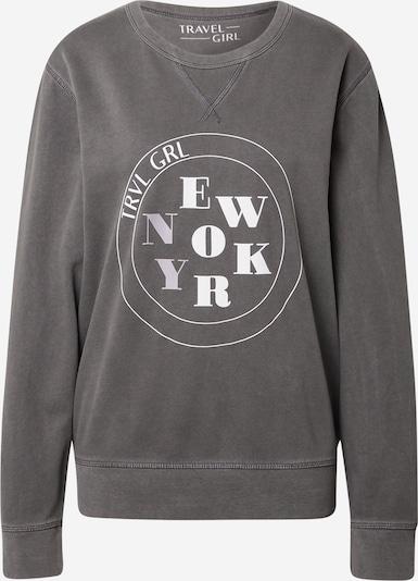 Travel Girl Camiseta 'New York' en gris / blanco, Vista del producto