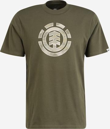 ELEMENT Тениска в зелено