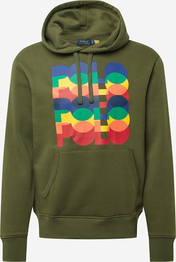 Polo Ralph Lauren Sweatshirt in Olive / Mixed colours, Item view